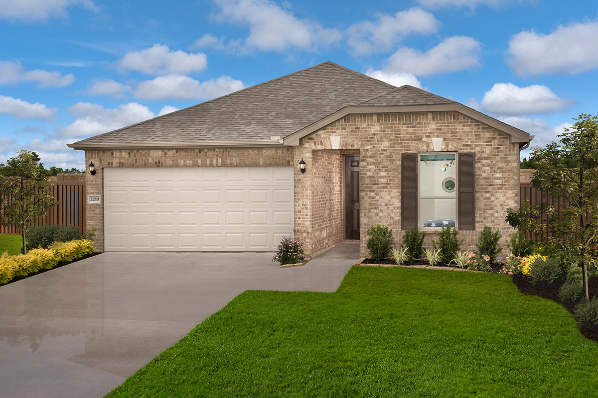 New Homes in Iowa Colony, TX - Sierra Vista Plan 1889