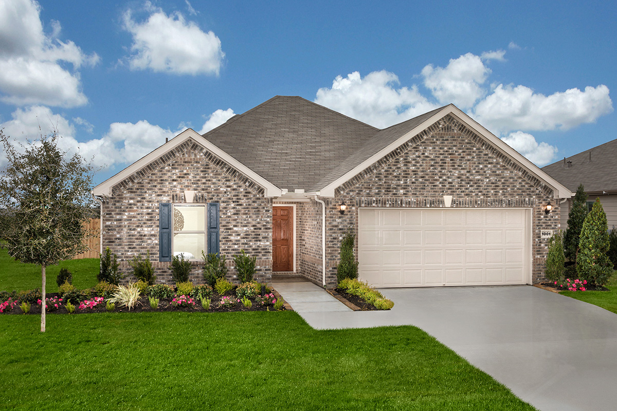 New Homes in La Marque, TX - Plan 1675 Modeled