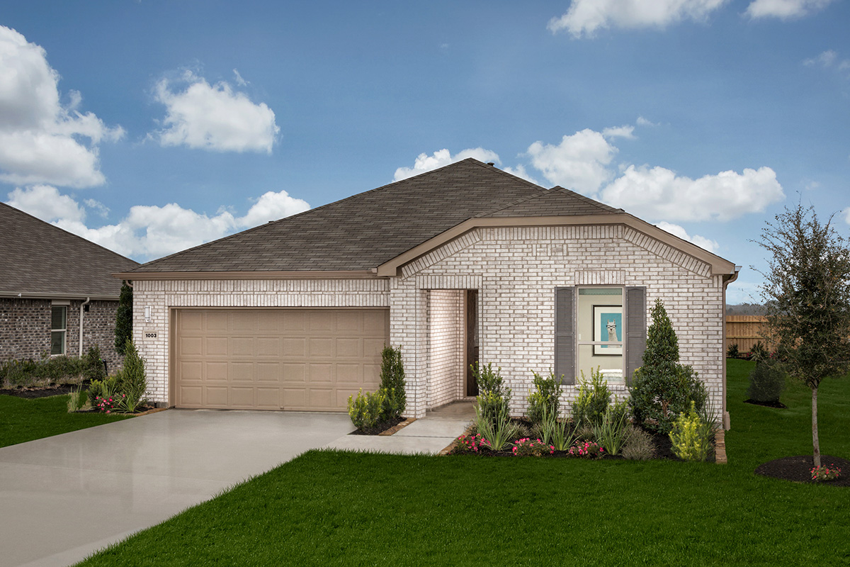 New Homes in La Marque, TX - Plan 2130 Modeled