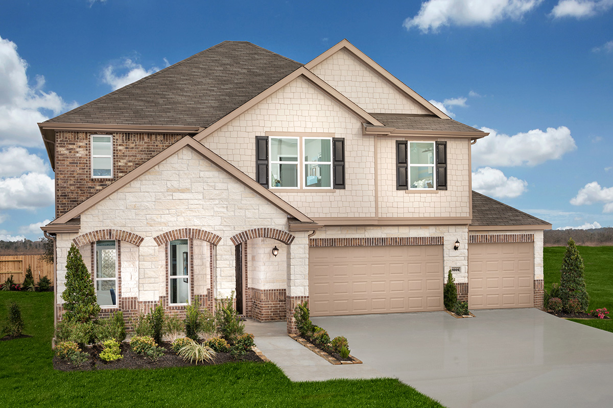 New Homes in La Marque, TX - Plan 2478 Modeled