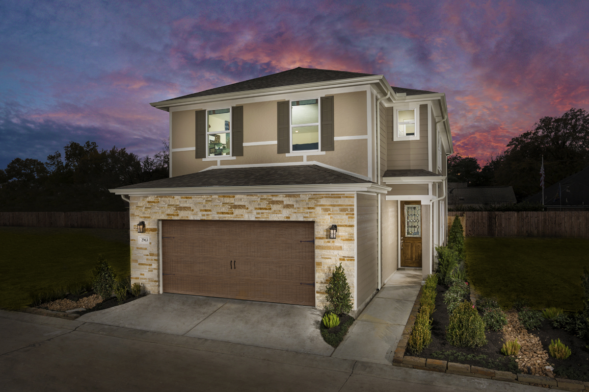 New Homes For Sale In Houston Tx Villas Community By Kb Home