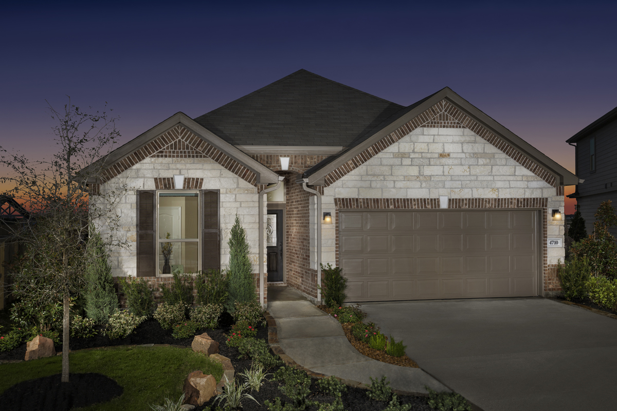 New Homes in Katy, TX - Plan 1944 Modeled