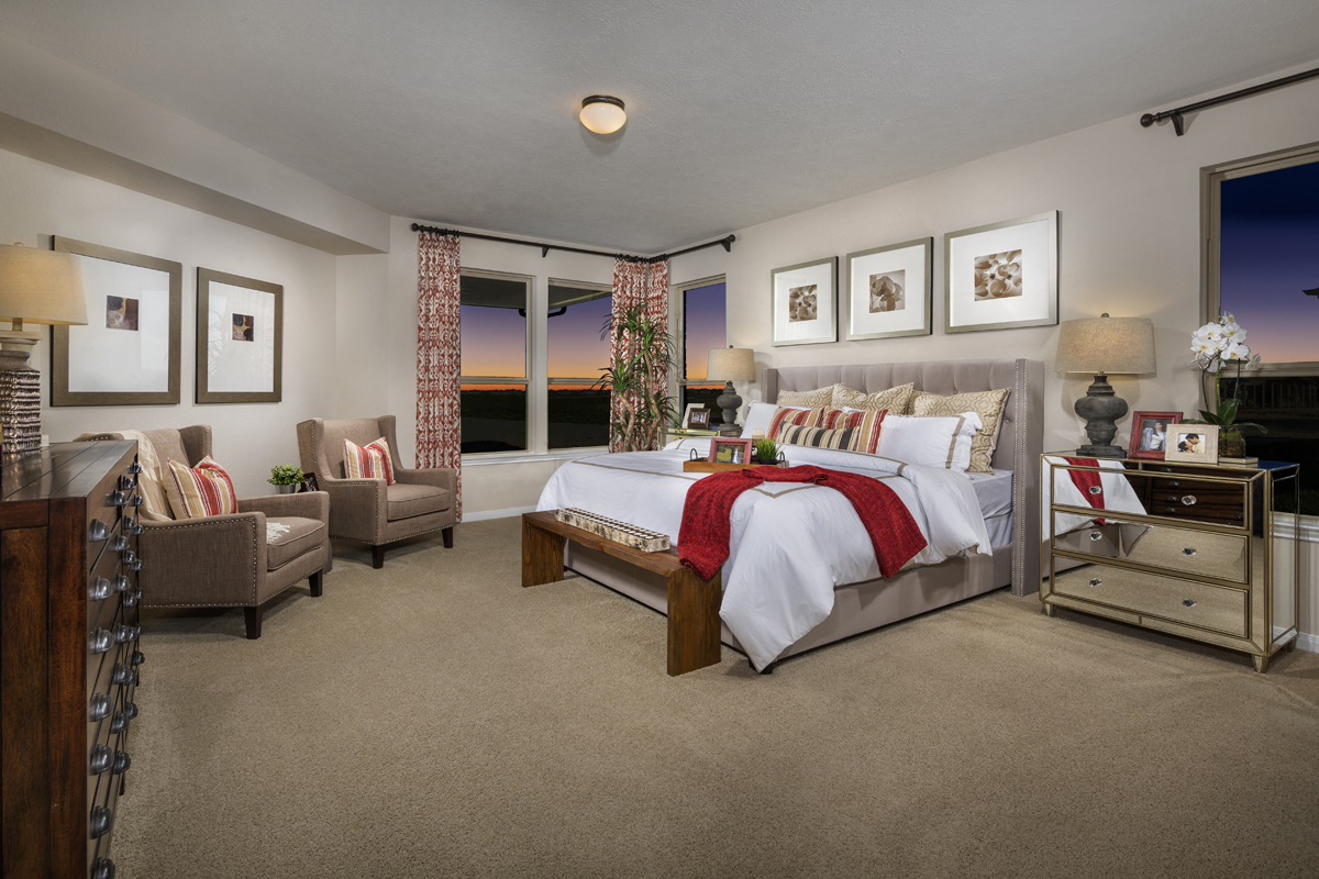 New Homes in Katy, TX - The Meadows at Westfield Village Plan 1944 Master Suite