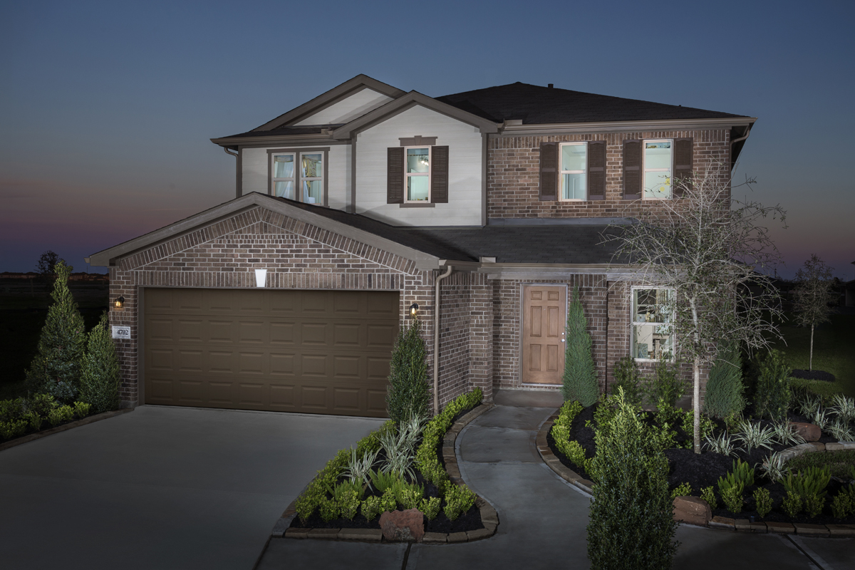 New Homes in Katy, TX - Plan 2961 Modeled