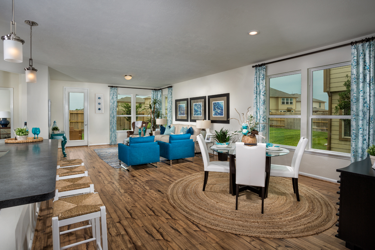 New Homes in Houston, TX - Westview Landing Plan 1889 Great Room