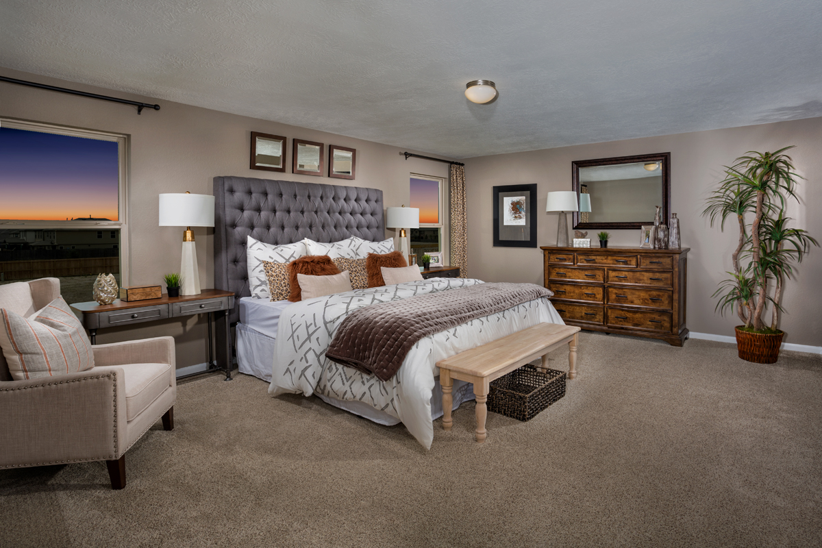 New Homes in Houston, TX - Westview Landing Plan 2526 Master Suite