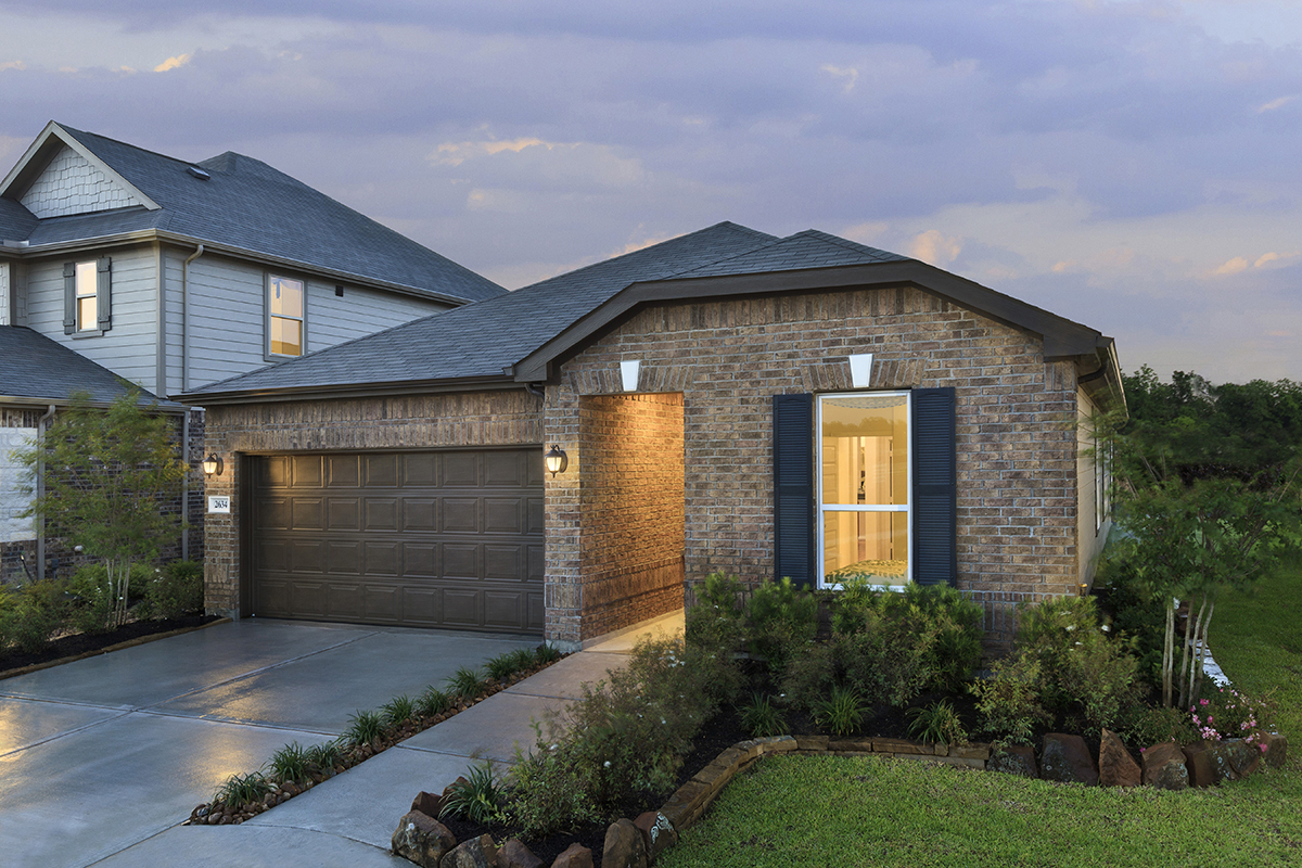 New Homes in Houston, TX - Plan 1889