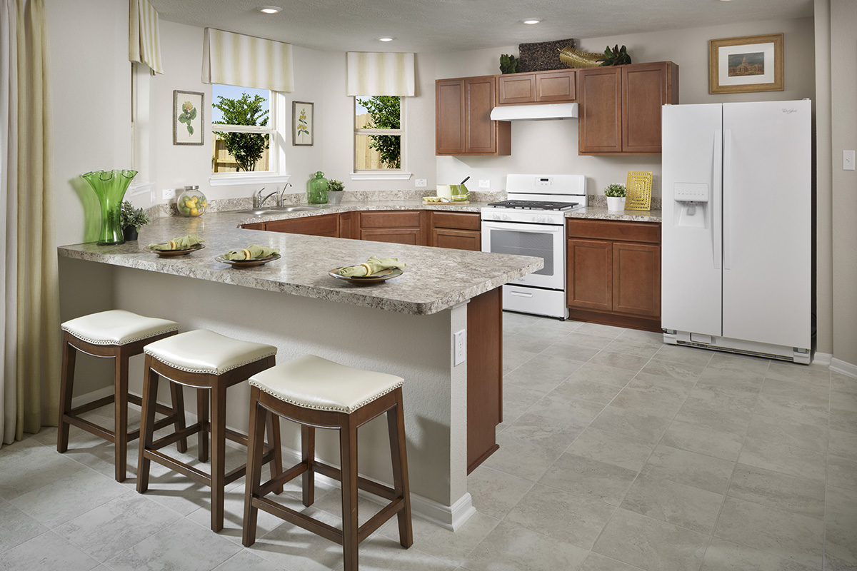 New Homes in Houston, TX - Westview Landing Plan 2124 Kitchen