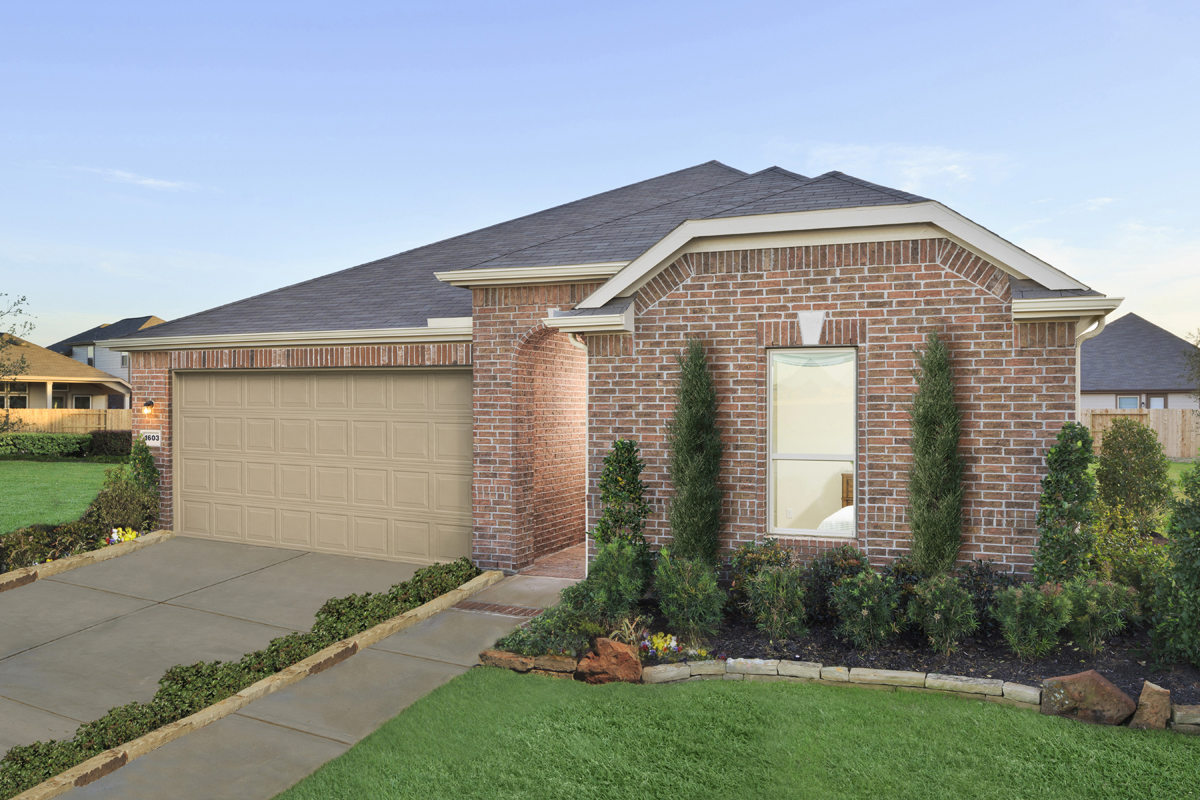 New Homes in Richmond, TX - Williams Ranch Preserve Plan 2398