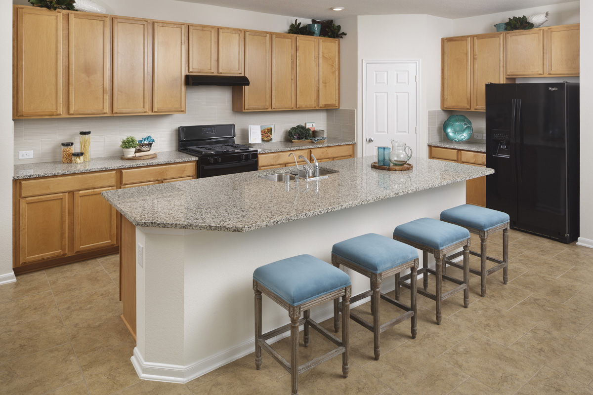 New Homes in Richmond, TX - Williams Ranch Preserve Plan 2398 Kitchen