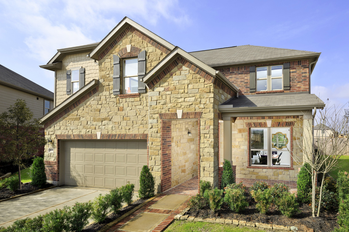 New Homes in Richmond, TX - Williams Ranch Preserve Plan 2715