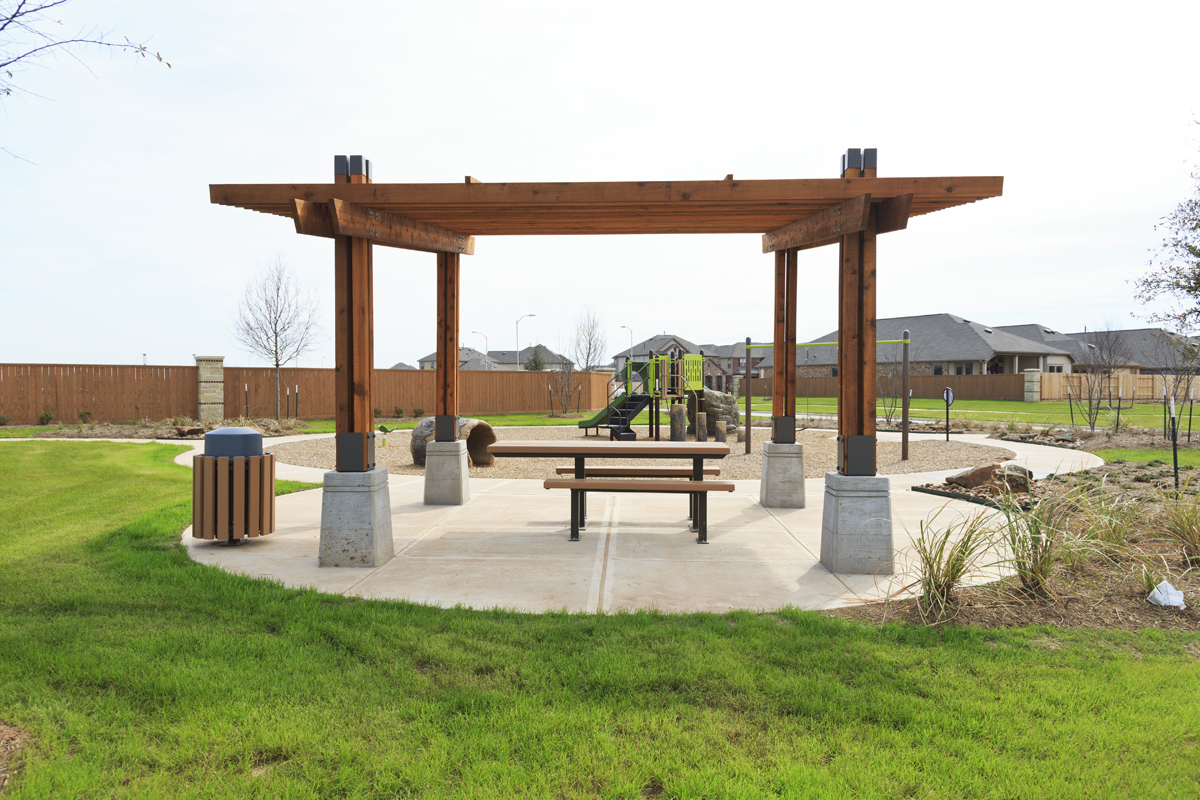 New Homes in Richmond, TX - Williams Ranch Preserve Community Open Air Pavilion