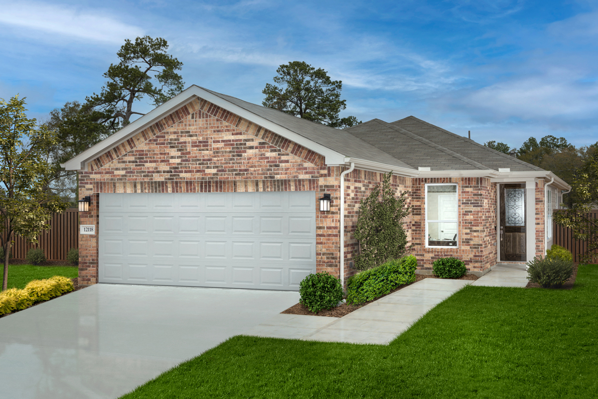 New Homes in Houston, TX - Willow Wood Place Plan 1585