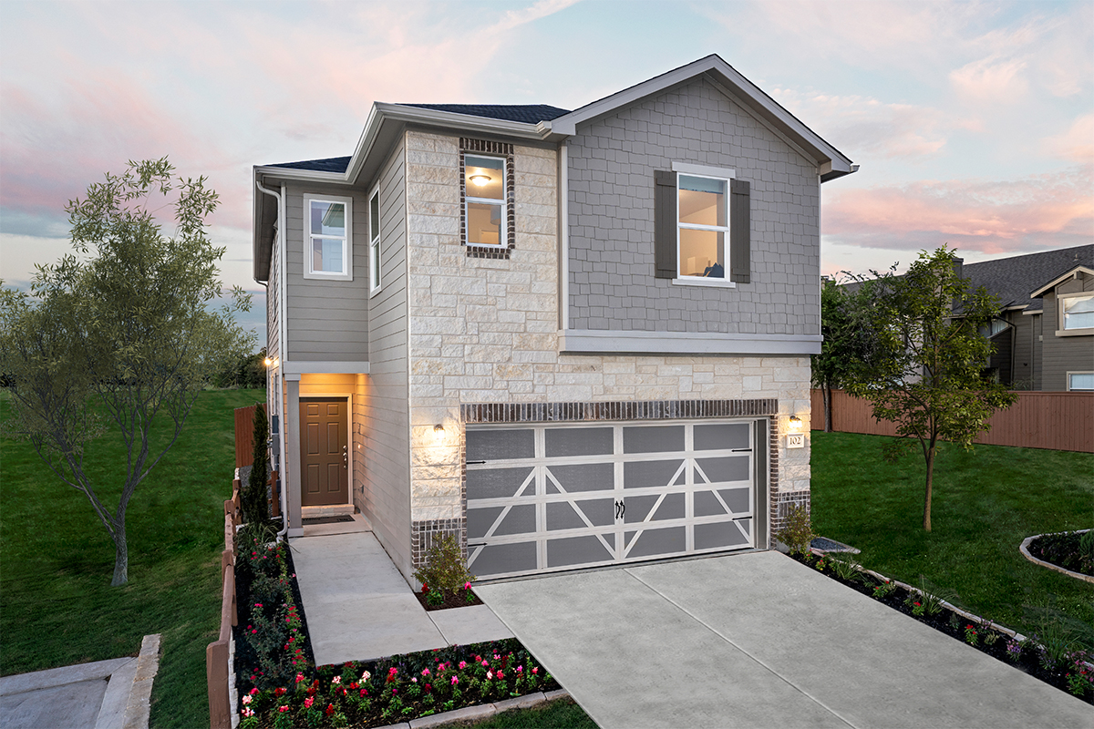 New Homes in San Antonio, TX - The Garrison The 1855 as modeled at 5911 Eckhert