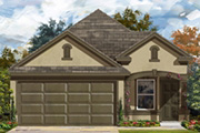 New KB Home built-to-order homes available at Amber Creek in San Antonio, TX. Plan 1340 Modeled is one of many floor plans to choose from.