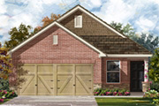 New KB Home built-to-order homes available at Amber Creek in San Antonio, TX. Plan 1353 is one of many floor plans to choose from.