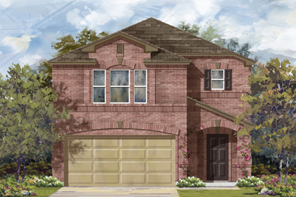 New Homes in New Braunfels, TX - Plan 1909 C