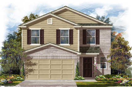 New Homes in San Antonio, TX - Plan 2239 C