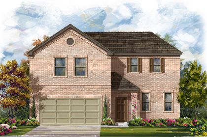 New Homes in Georgetown, TX - Plan A-2502 A