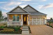New KB Home built-to-order homes available at CrossCreek - Sterling Collection in San Antonio, TX. Plan E-1647 is one of many floor plans to choose from.