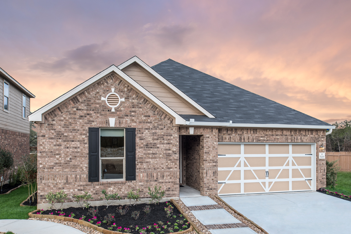 New Homes in San Antonio, TX - Canyon Crest Plan 2382
