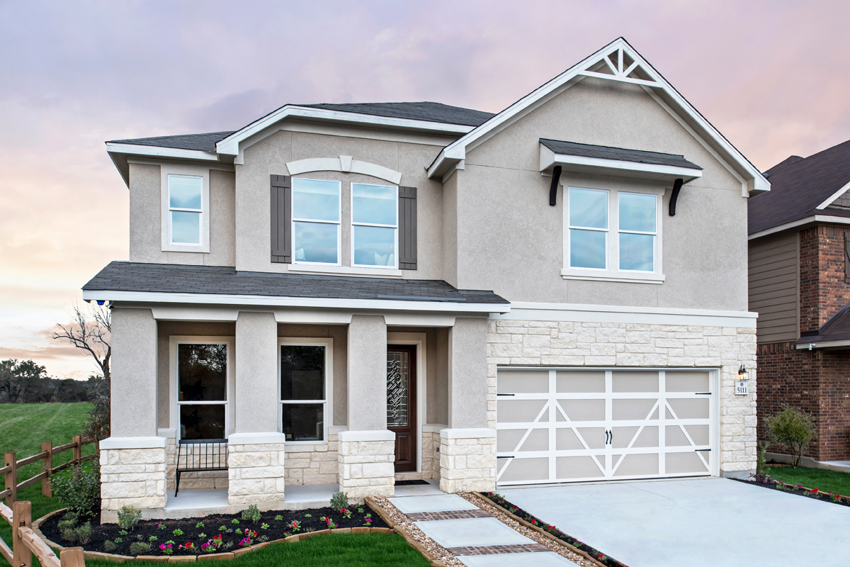 New Homes in San Antonio, TX - Canyon Crest Plan 3417