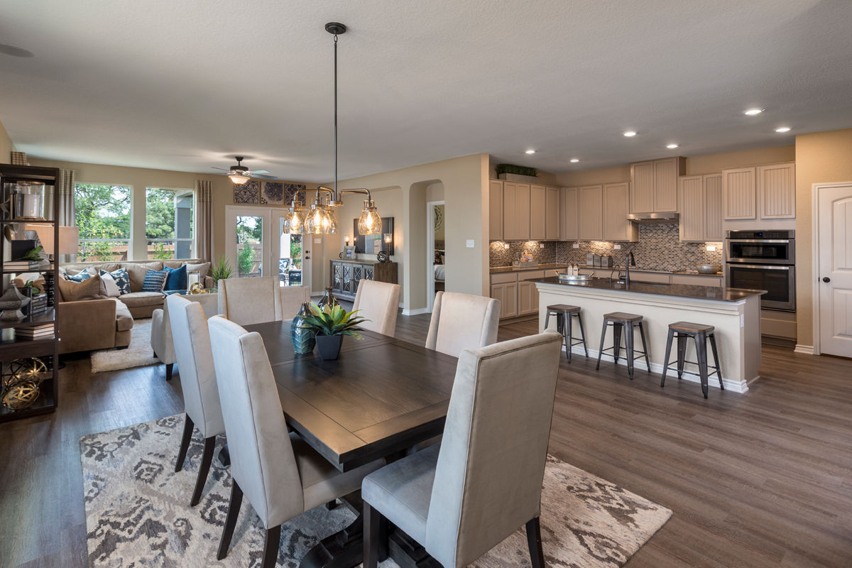 Plan 3023 New Home Floor Plan In Canyon Crest By Kb Home