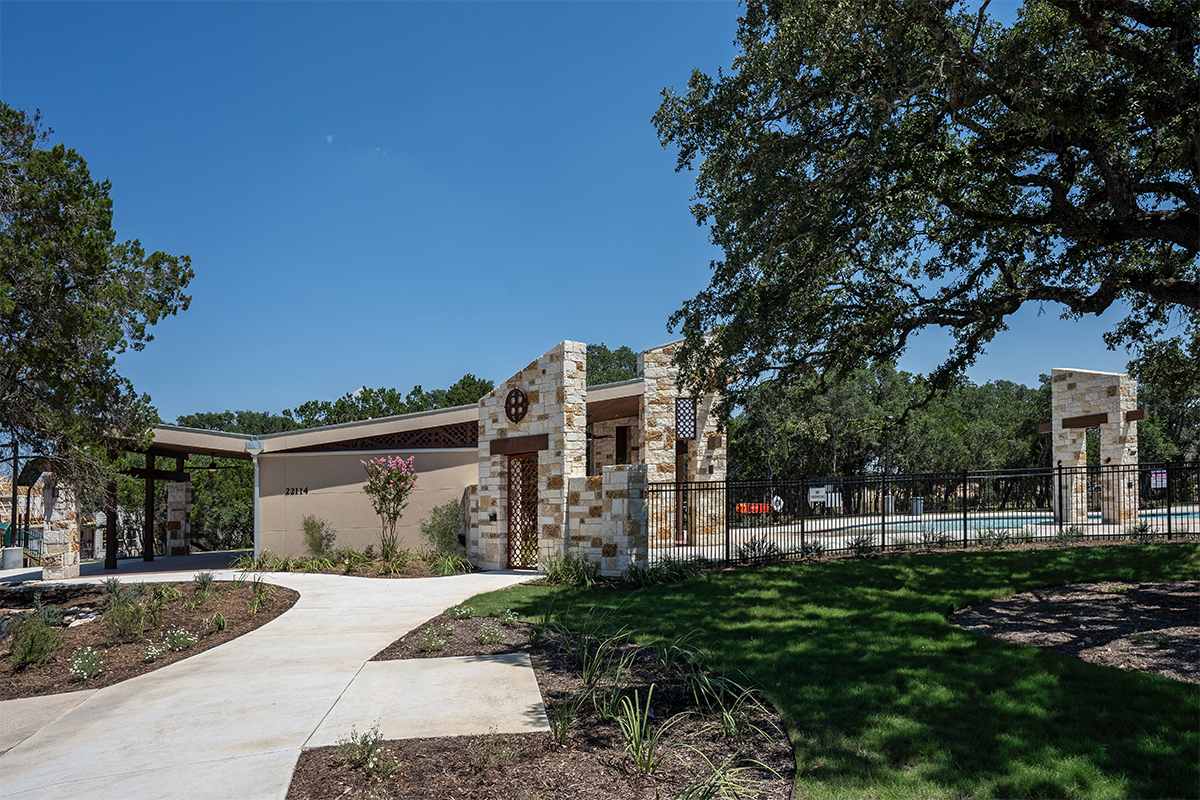 New Homes in San Antonio, TX - Canyon Crest Amenity Center
