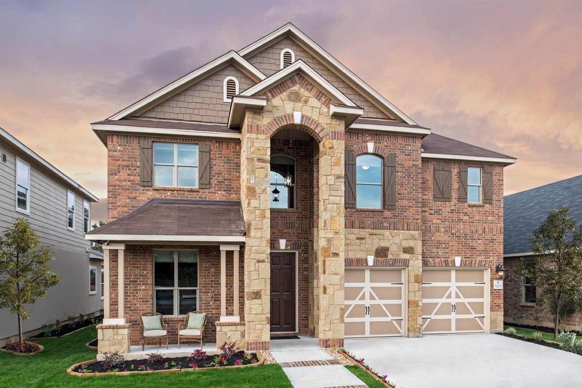 New Homes in San Antonio, TX - Canyon Crest The 2755