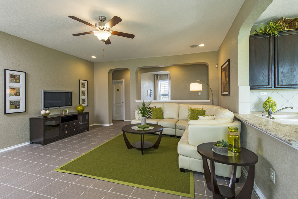 New Homes in San Antonio, TX - The Vistas of Carmona Hills The 1516 Living