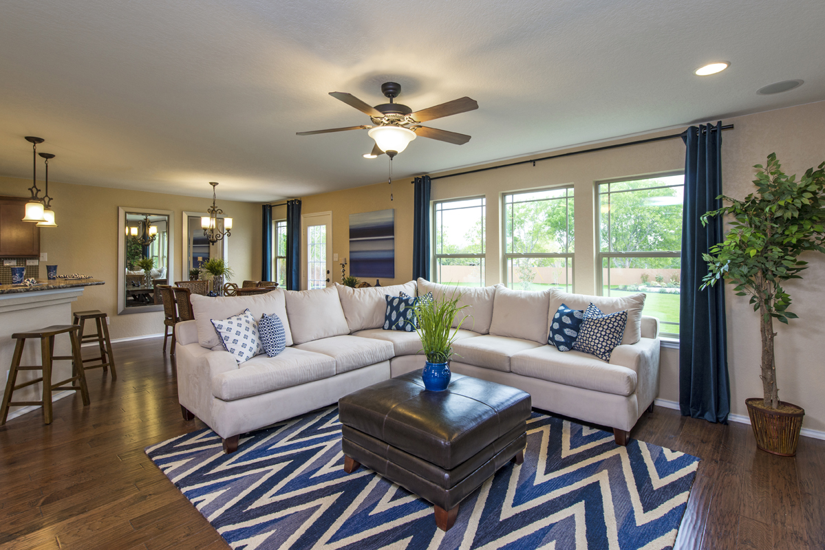 New Homes in San Antonio, TX - The Vistas of Carmona Hills The 1771 Living