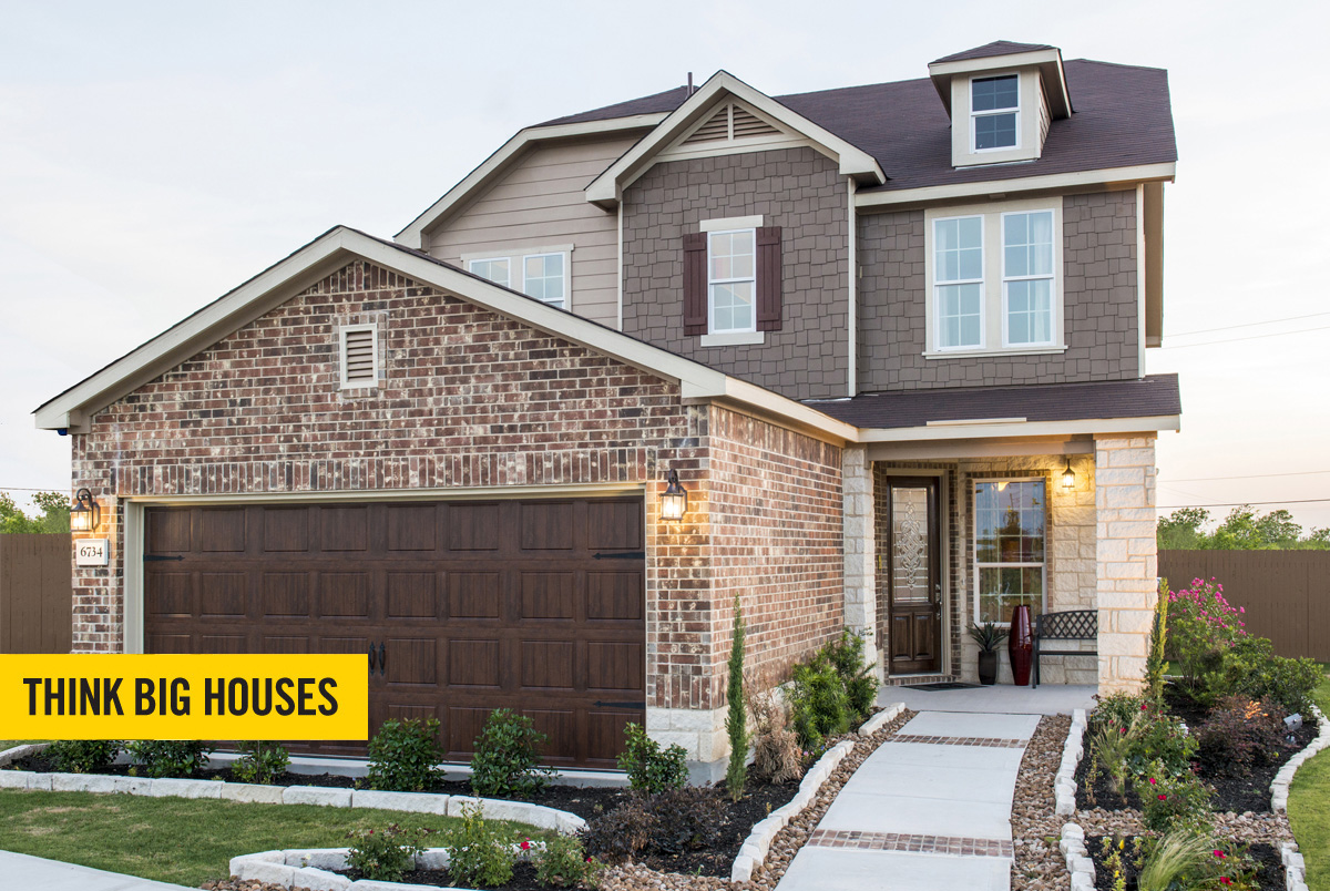 New Homes in San Antonio, TX - The Vistas of Carmona Hills The 2408