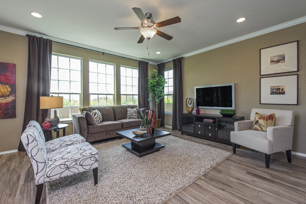New Homes in San Antonio, TX - The Vistas of Carmona Hills The 2408 Living