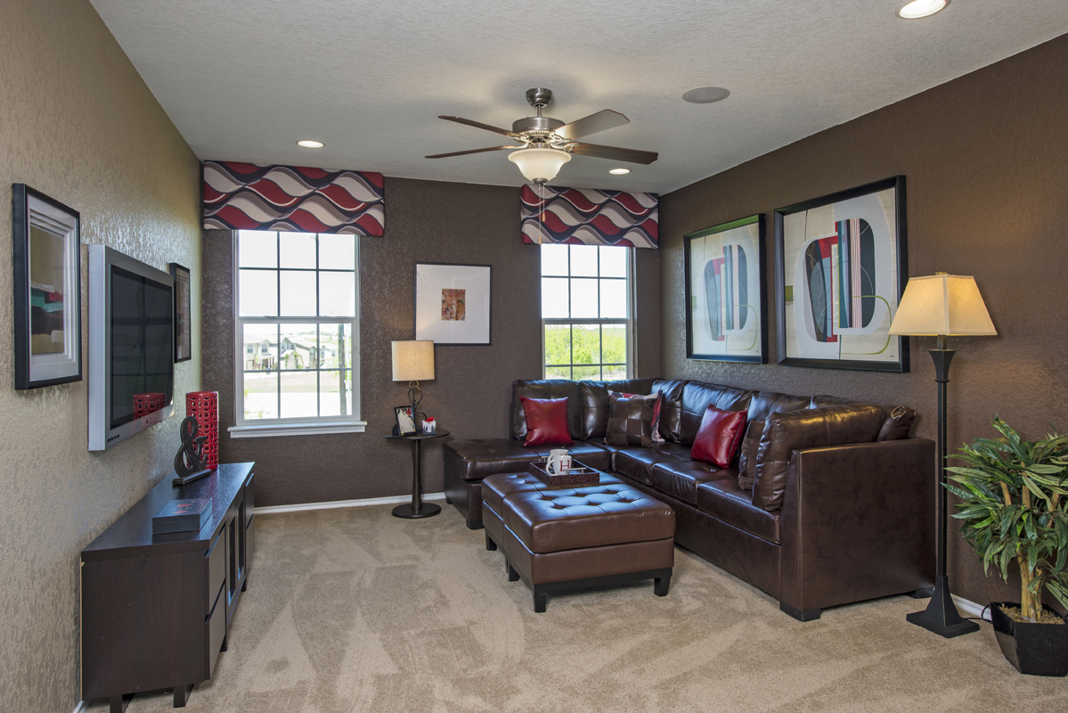 New Homes in San Antonio, TX - The Vistas of Carmona Hills The 2408 Loft