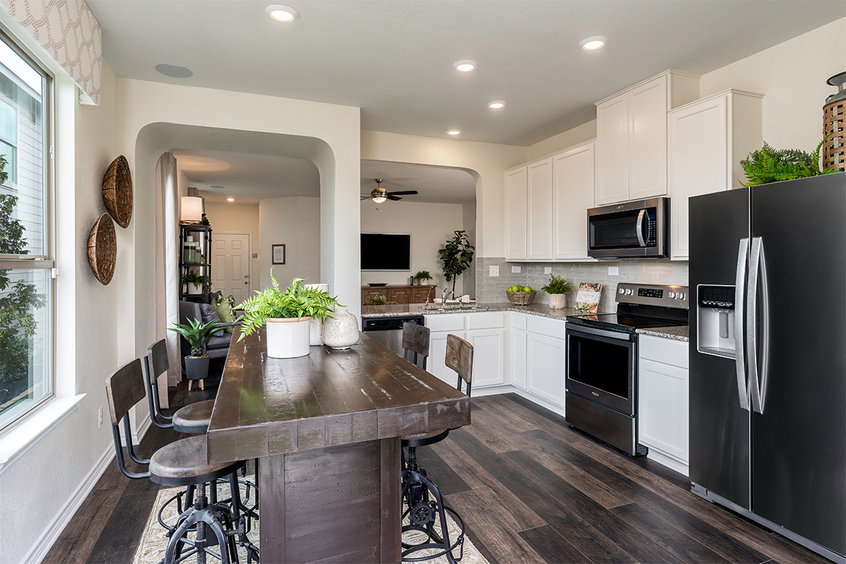 New Homes in San Antonio, TX - Champions Landing The 1516 Kitchen