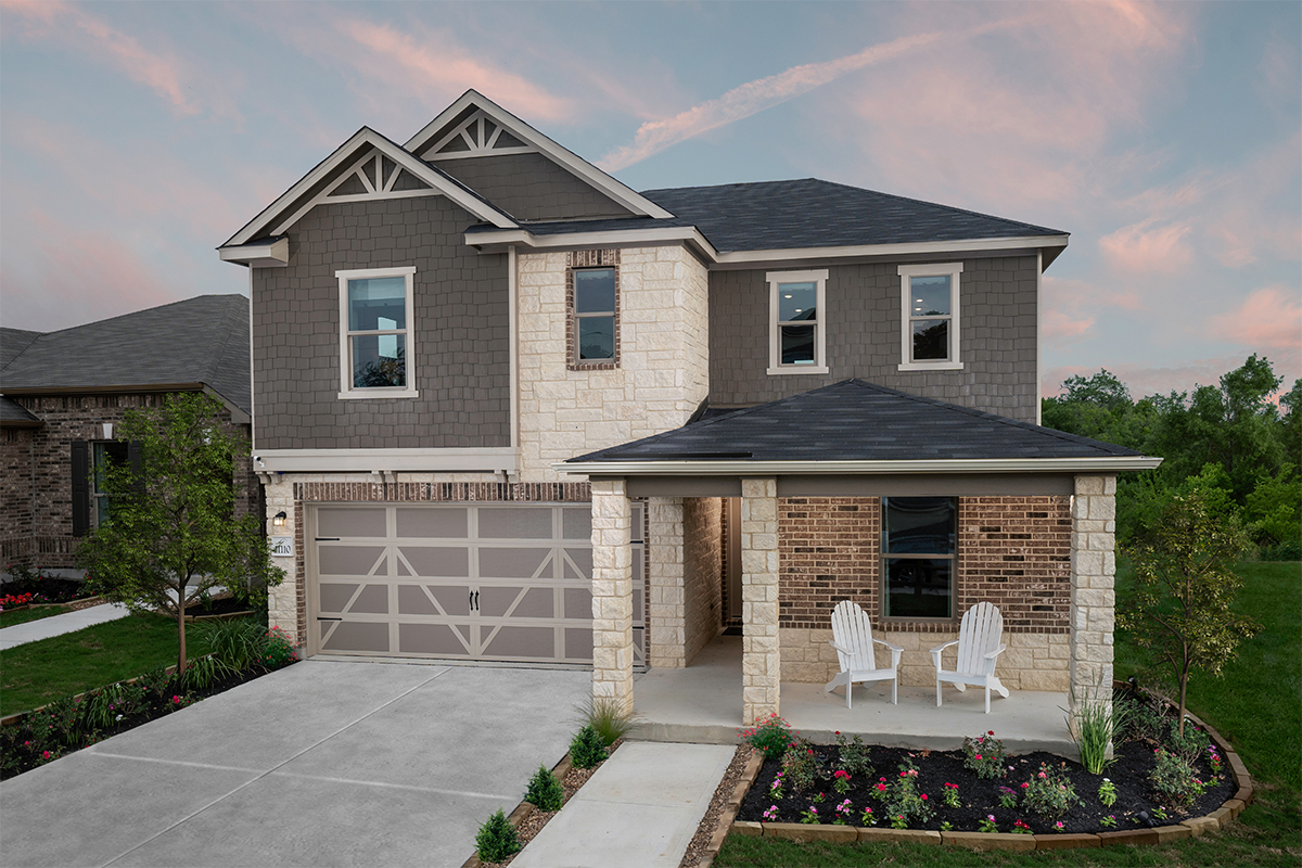 New Homes in San Antonio, TX - Plan 2403 Modeled