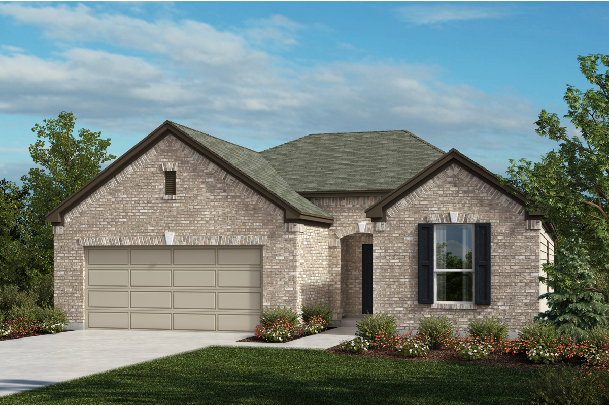 New Homes in Universal City, TX - Plan 1792 A