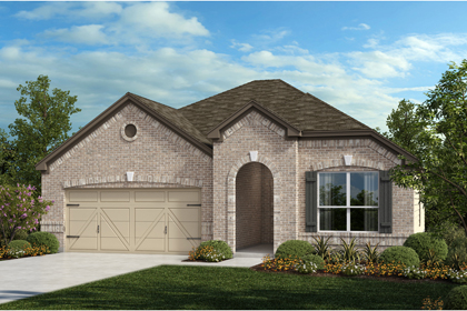 New Homes in Universal City, TX - The 1792 B