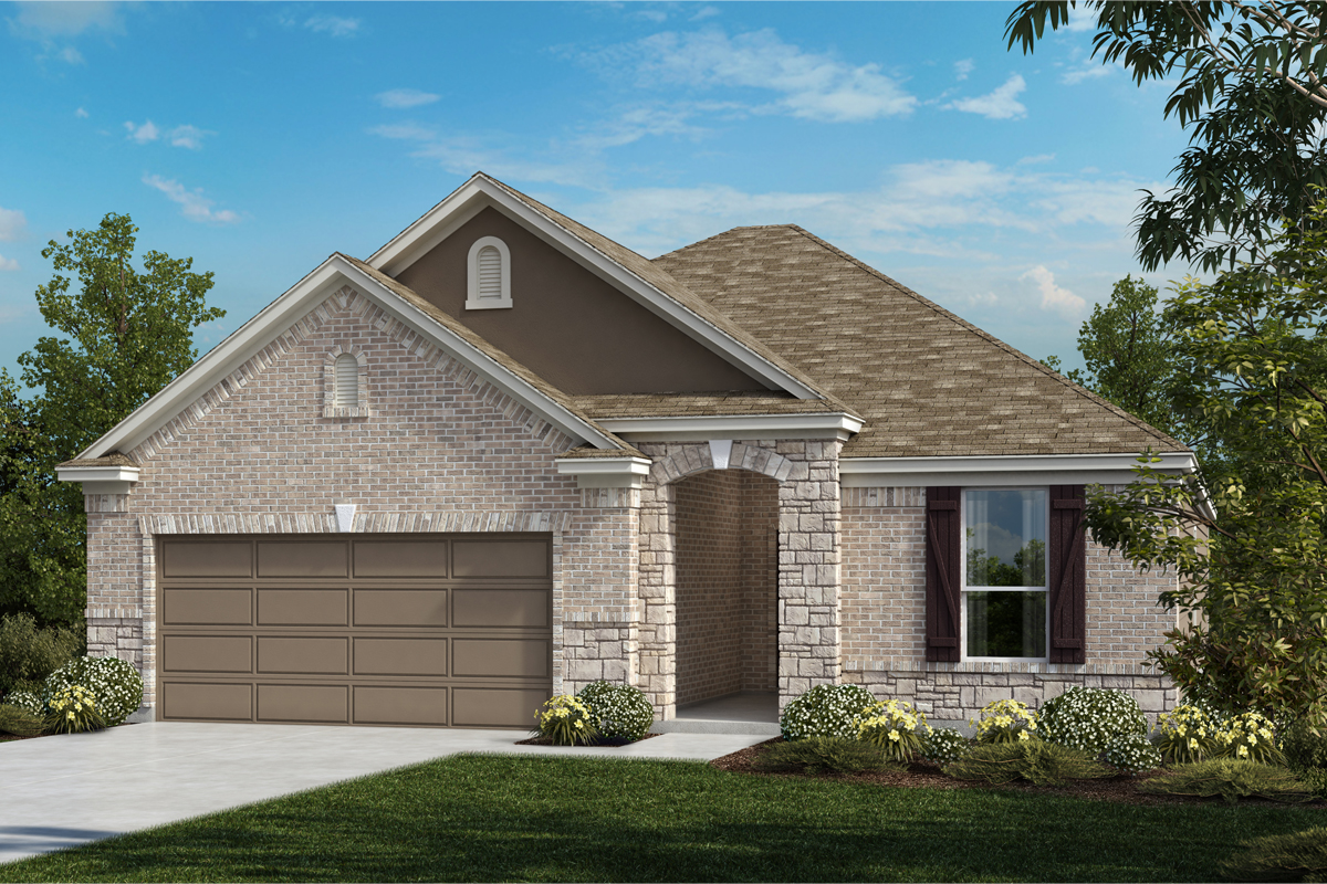 New Homes in Universal City, TX - Plan 1792 C