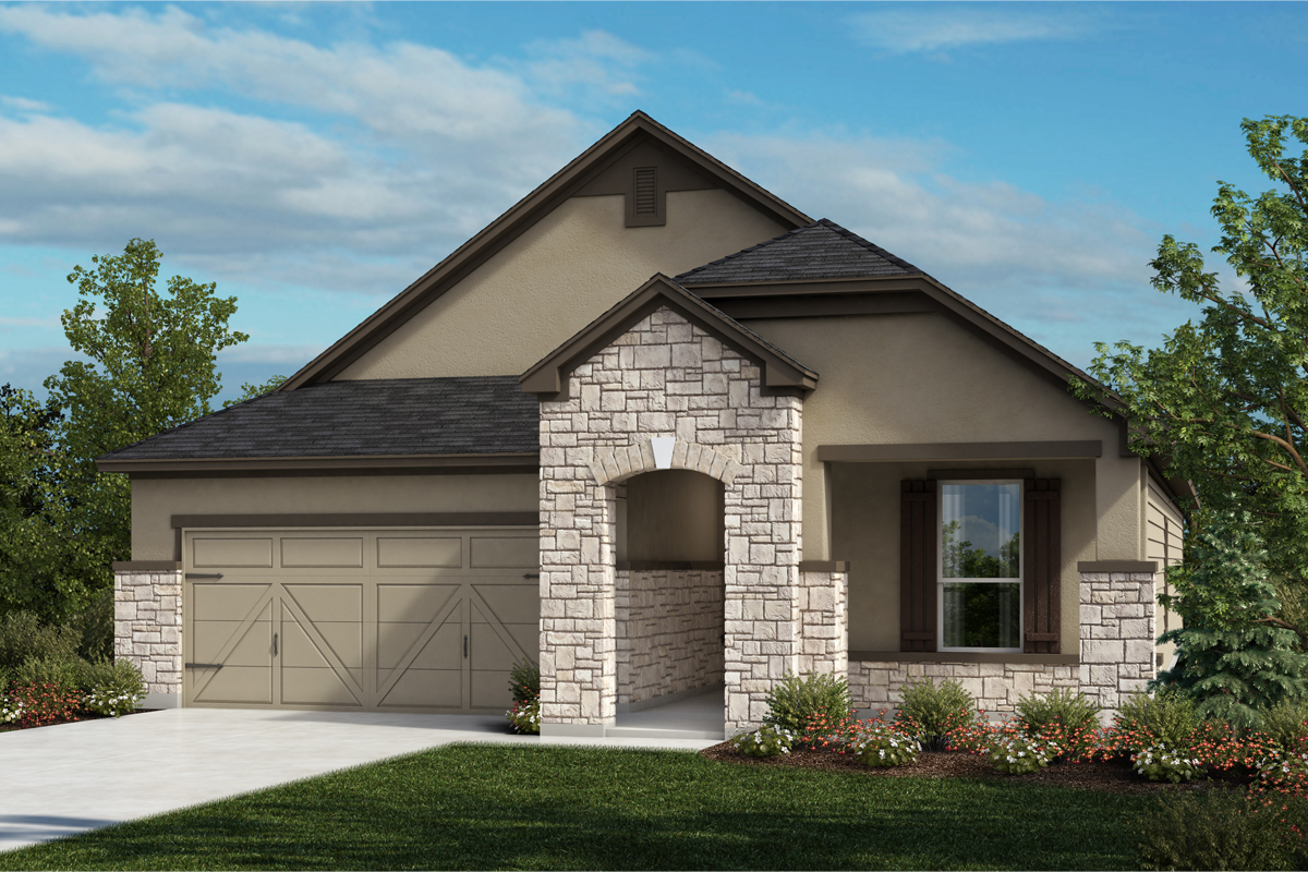 New Homes in Universal City, TX - Plan 1792 D