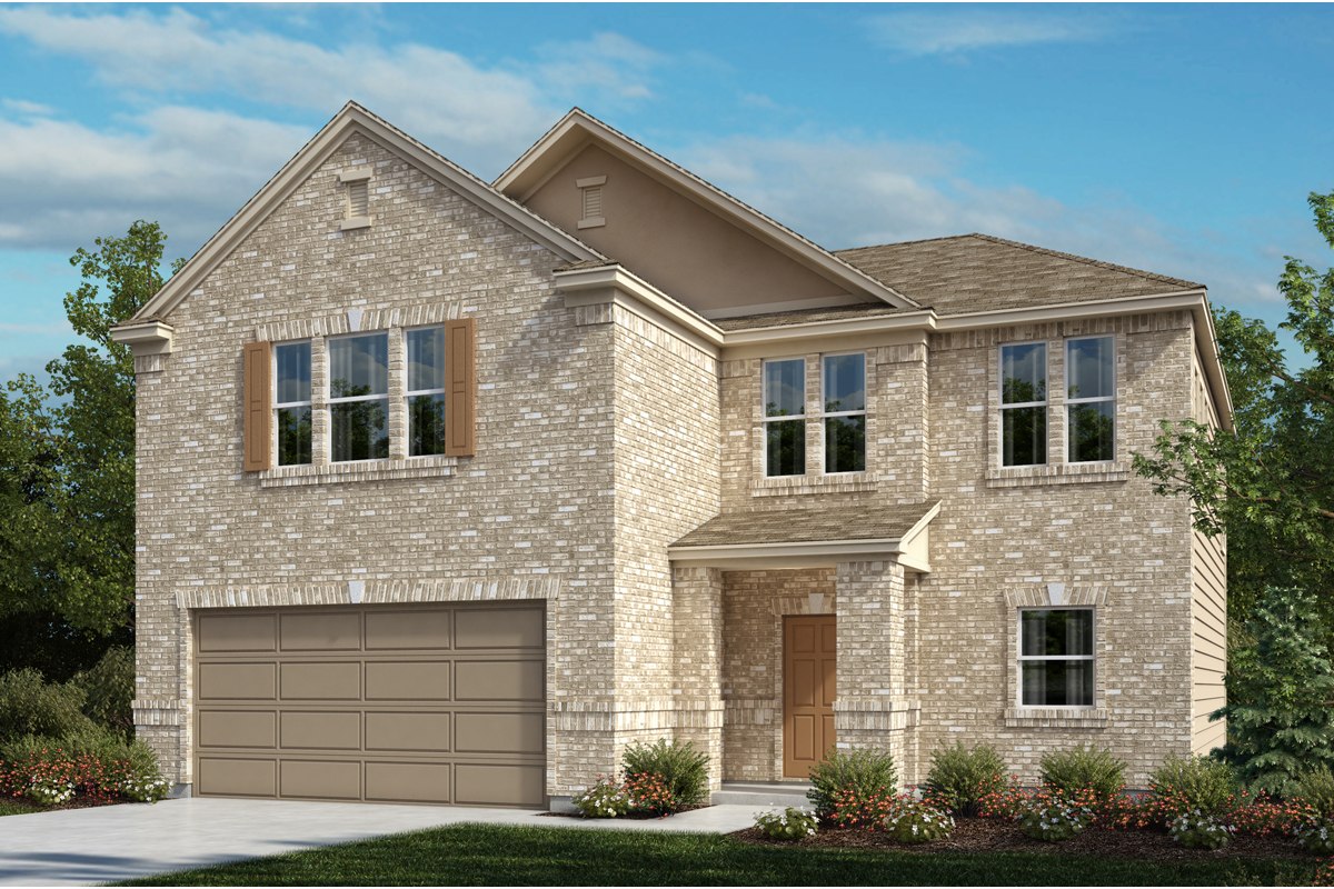 New Homes in Universal City, TX - Plan 2183 A
