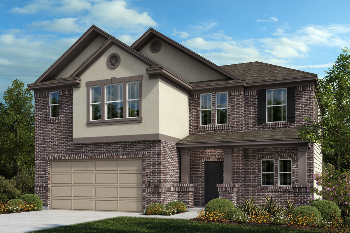 New Homes in Universal City, TX - Plan 2183 B