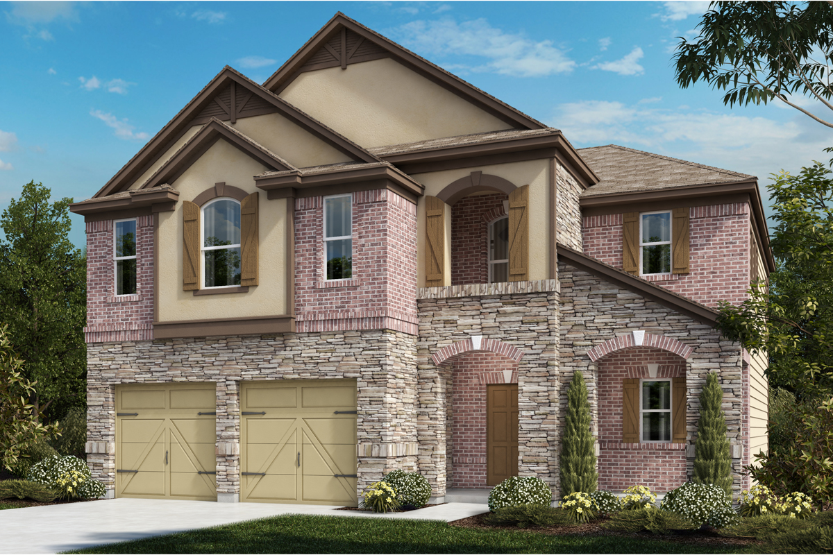 New Homes in Universal City, TX - Plan 2183 C