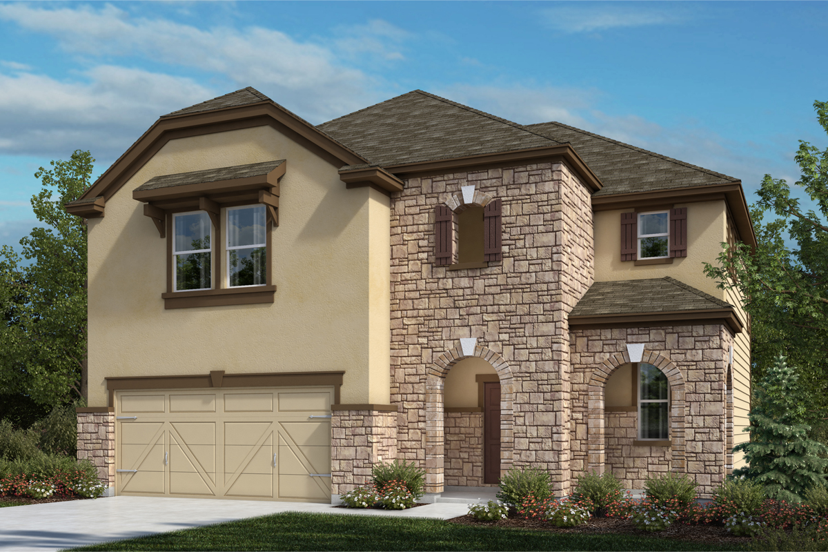 New Homes in Universal City, TX - Plan 2183
