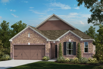 New Homes in Universal City, TX - The 2382 C