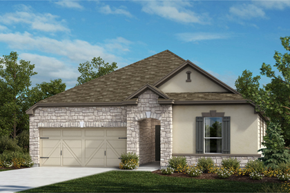New Homes in Universal City, TX - The 2382 D