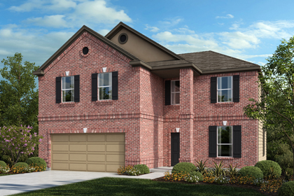 New Homes in Universal City, TX - The 2469 B