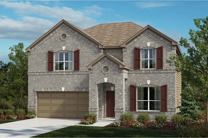 New Homes in Universal City, TX - The 2755 A