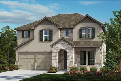 New Homes in Universal City, TX - The 2755 D