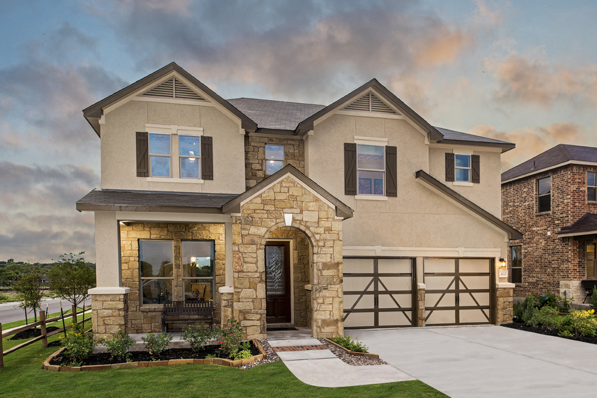 New Homes in Universal City, TX - Copano Ridge The 2755